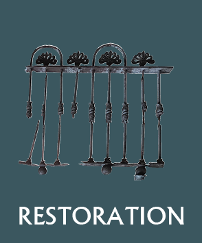 Wrought iron restoration